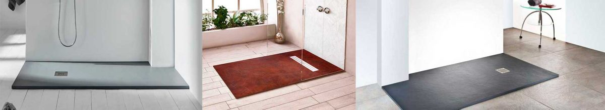 Platos de ducha cuarto de baño