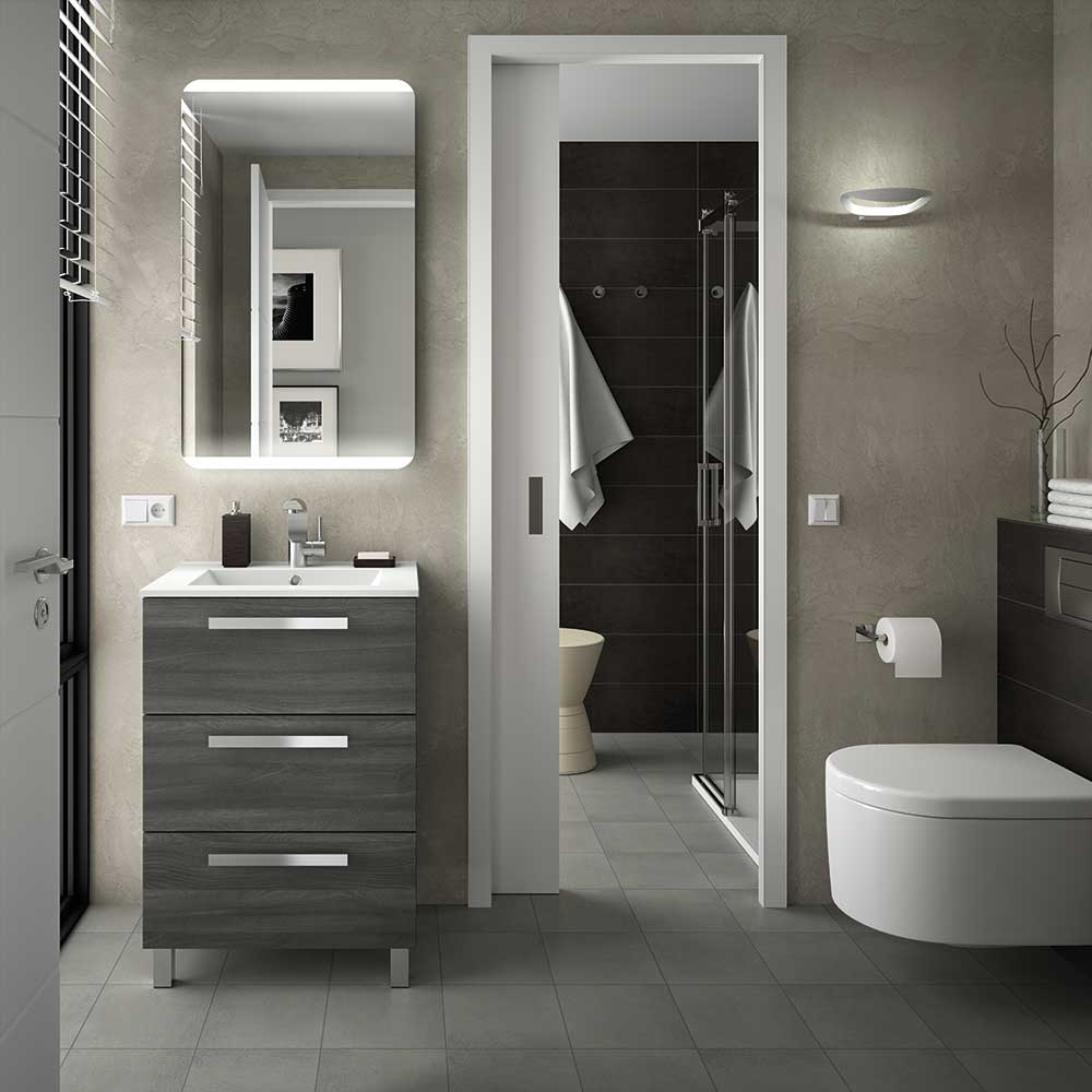 Muebles de baño fussion Chrome